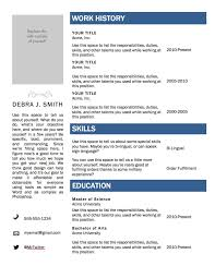 sample resume templates resume pdf sample resume templates resume templates sample resumes and resume cv templates word