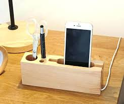 wooden phone charging station wooden phone charging station multipurpose wooden pen pencil holder phone charging station