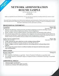 Entry Level System Administrator Resume Sample Best of Network Administrator Resume Sample New Network Administrator Resume