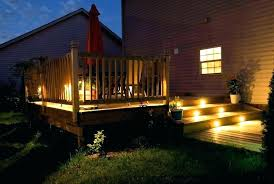 led outdoor deck lighting. Recessed Deck Lighting Under Idea Outdoor Or Led