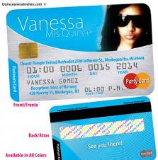 Credit Card Party Invitations Platinum Credit Card Invitations
