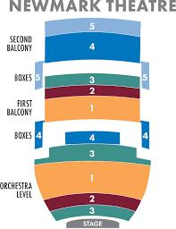 Keller Seating Chart Portland Seating Charts Oregon Ballet Theatre Portland Oregon