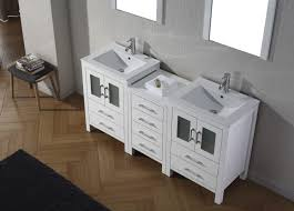 66 double sink vanity. virtu usa dior 66 double bathroom vanity set in white sink c