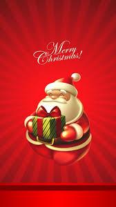 Cute Christmas Santa Claus Iphone 8 Wallpapers Free Download