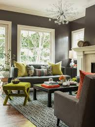 What Colour To Paint Living Room Living Rooms That Pop With Color Hgtv