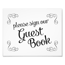 Guest Book Sign Template Under Fontanacountryinn Com