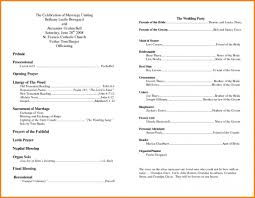Wedding Program Templates Free Word Free Printable Wedding Program Templates Word Template Business