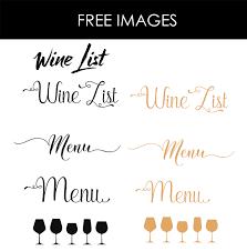 Design Templates Menu Templates Wedding Menu Food Menu Bar