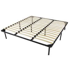 Best Choice Products Wooden Wood Slat Bed Frame As Wood Bed Frame ...