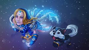 images dota 2 crystal maiden sorcery mage staff fantasy games