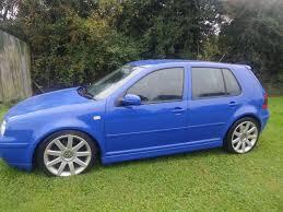 MK4 2001 VOLKSWAGEN GOLF GTI (115 BHP) Hatchback BLUE POWERFLOW ...