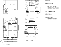 plan of french country house plan