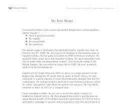 essay on role model twenty hueandi co essay on role model