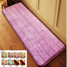 antislip velvet bathroom door mat absorbent bath mat slow rebound memory foam bathroom carpet microfiber floor