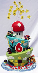 This is an Awesome Super Mario Bros Birthday Cake [pic] Global