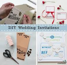 diy wedding invitations confetti co uk