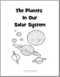 Small Picture The Planets in Our Solar System Coloring Book free printable