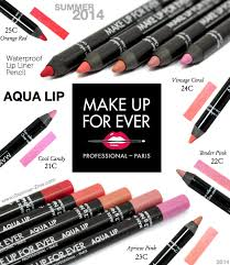 make up for ever aqua lip waterproof lip liner pencil review photos and swatches via holly richer zine makeupforever