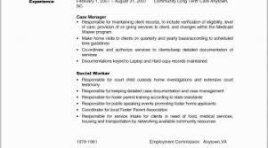 Career Change Resume Objective Examples Social Work Resumes Fresh