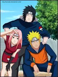 If Sakura and Sasuke have daughter and son and if Naruto and Hainata had  son too soo cool | Sasuke kid, Naruto sasuke sakura, Sakura and sasuke