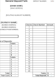 Routing Slip Template Deposit Form Templates Free Word Synonym ...