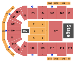 Cross Center Seating Chart Luke Combs In Bangor Tickets Cross Insurance Center March