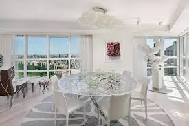 round white marble dining table: dining room wonderful the white marble dining table set modern
