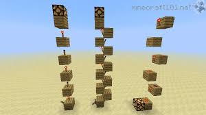 redstone torch ladders