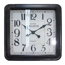 office large size floor clocks wayfair. Bean Oversized Vintage Square Wall Clock Office Large Size Floor Clocks Wayfair