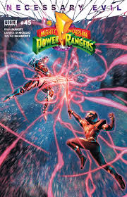Mighty Morphin Power Rangers White Light Part 1 Mighty Morphin Power Rangers 45 Review Comic Book Revolution