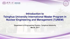 Department of Engineering Physics, Tsinghua University - ppt video ...