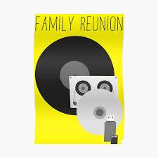 Family Reunion Poster Design