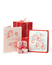 Day Cards To Print Abstract Rose Print S Day Cards And Gift Wrap Martha Stewart