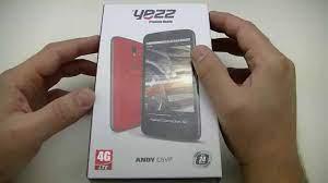 Yezz Andy C5VP - déballage
