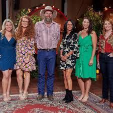 The farmer wants a wife reunion addresses that pregnancy scandal. Farmer Wants A Wife Meet Farmer Rob S Ladies Popsugar Australia
