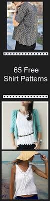 65 Free Shirt Patterns Ms (Diy ...