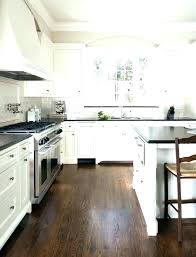 dark wooden floor kitchen white kitchens with dark floors dark wood floor kitchen kitchen designs white