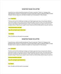 Donation Thank You Letter Templates Related Post Donation Acceptance Letter Sample Letters