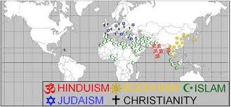 Ap World History Religion Chart Religions Of The World Freemanpedia