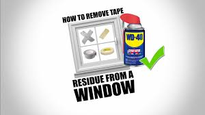 how to remove adhesive residue from acrylic plastic and glass without damage