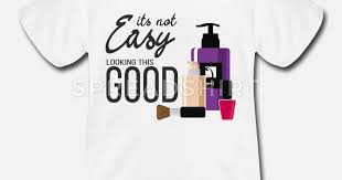 easy make up lover tshirt bday gift baby lap shoulder t shirt spreadshirt