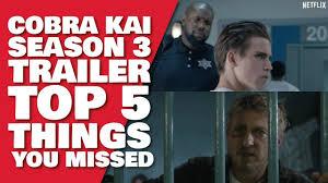 Cobra Kai Season 3 Teaser Trailer #2 | Top 5 Things YOU Missed & Theories -  YouTube