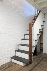 painted basement stairs.  Painted Upgraded Basement Stairs With Paint And Plywood  No Need To Rip Them Out Throughout Painted Basement Stairs E