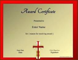 Certificate Templates Appealing Participation Award Template Sample ...