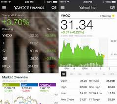 yahoo finance app. Brilliant Yahoo Outpace The Market With New Yahoo Finance Follow Stocks You Care  About Most Receive Push Notifications On Breaking News Stories  Inside Finance App T