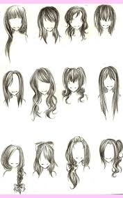 Fantasy Hairstyles Drawing Google Search ファッションアイデア