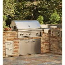 lynx gas grills 36 inch built in grill in outdoor kitchen