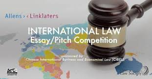 allens linklaters international law essay pitch competiti  allens linklaters international law essay pitch competition