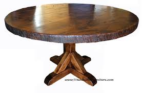 upscale dining room furniture. End Tables:Rustic Alder Round Dining Table High Room Tables Bradley S Furniture Etc Upscale