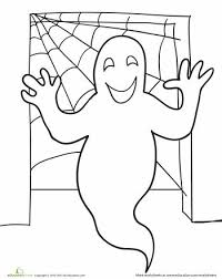 Small Picture 52 best Ghost images on Pinterest Halloween coloring pages